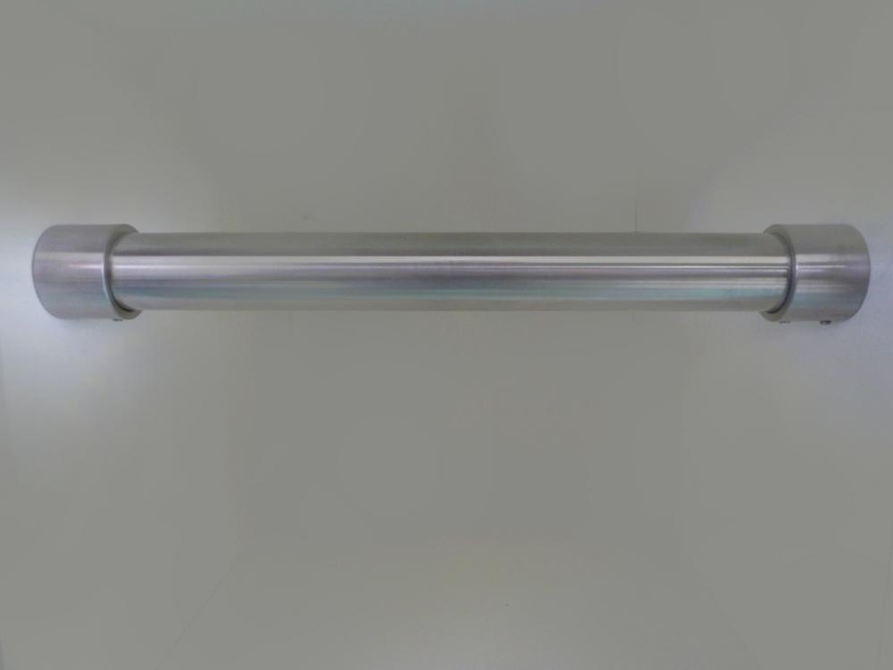 Rvs garderobestang 33 7 mm type b for Garderobe querstange