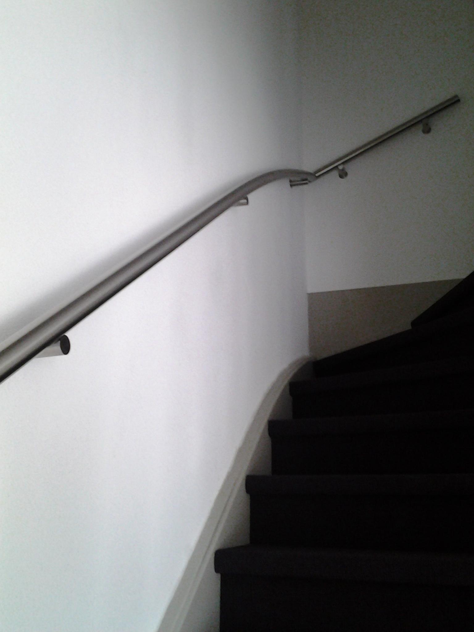 trapleuning gebogen op maat