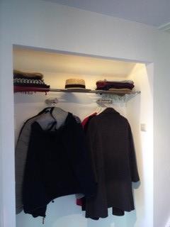 rvs kapstok garderobe
