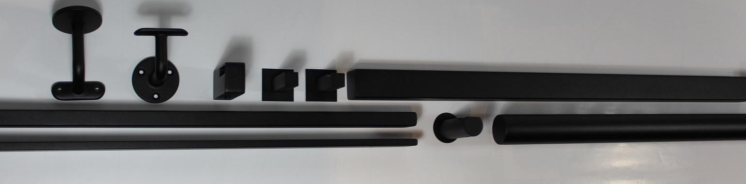 garderobestang zwart