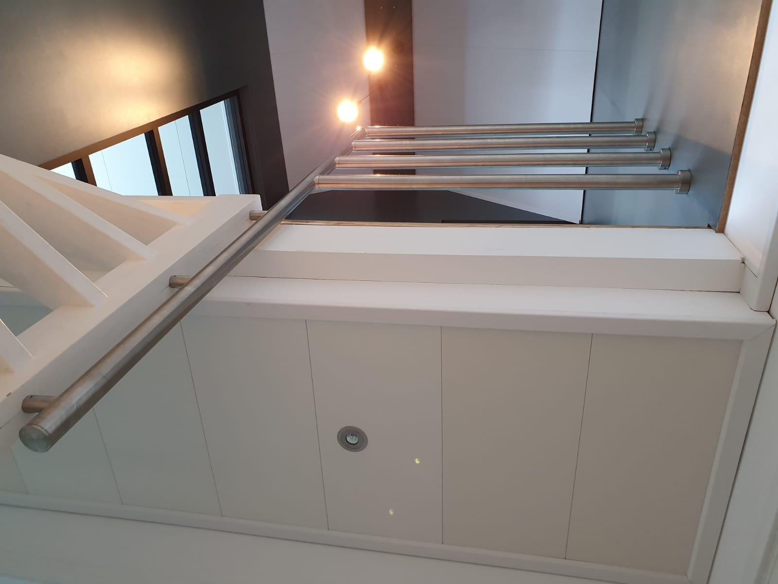 rvs balustrade trapgat